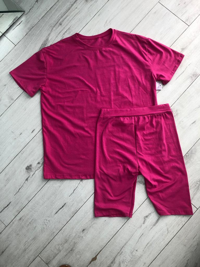 Pink Cycling Set