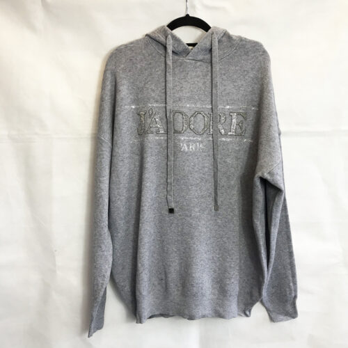 Grey J'adore Style Hoody