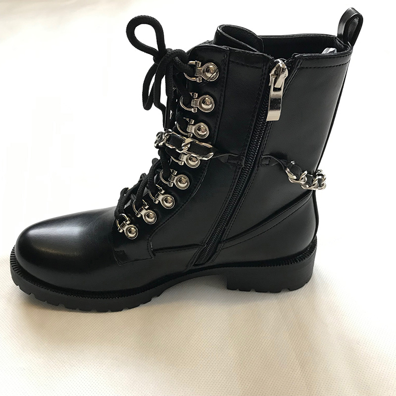 Chain Detailing Ankle Boot