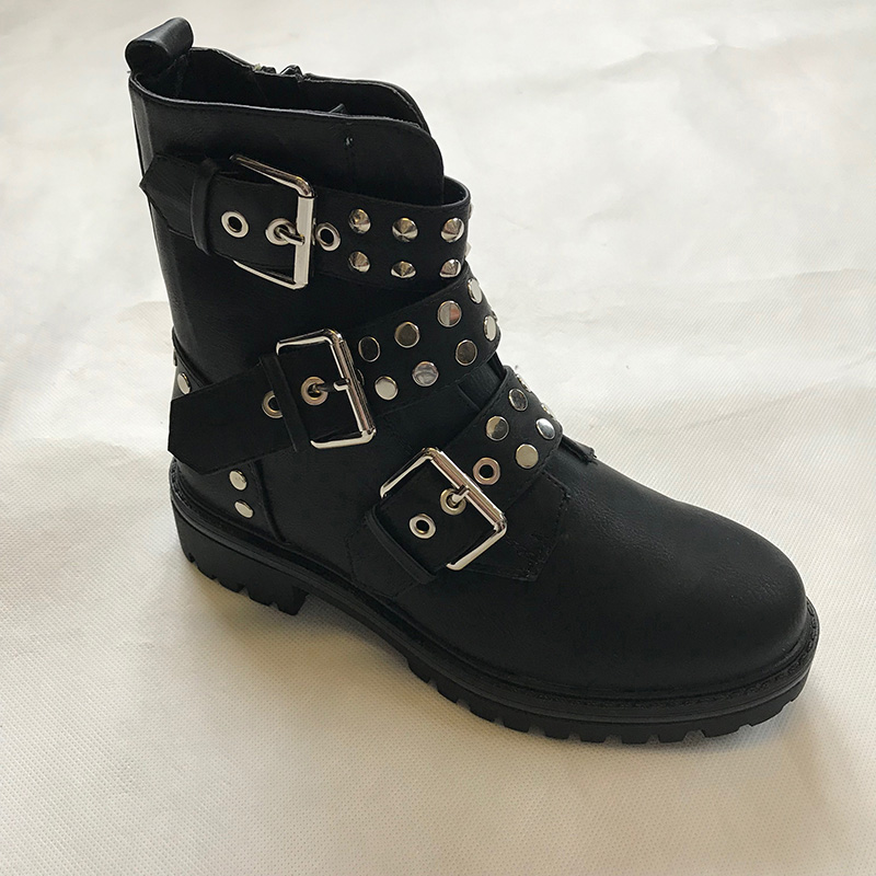 Buckle Detailing Ankle Boot