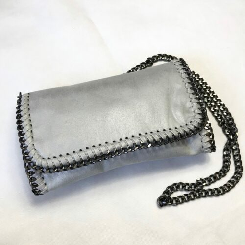 Stone Chain Detailing Bag