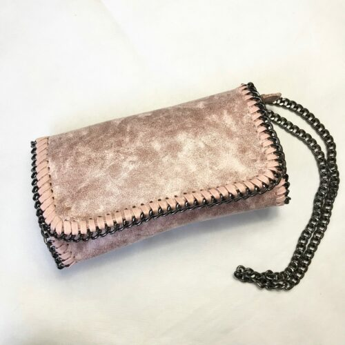 Pink Chain Detailing Bag