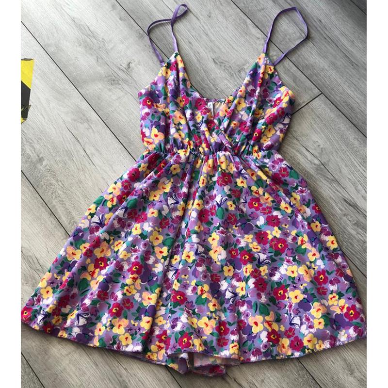 Lilac Floral Playsuit